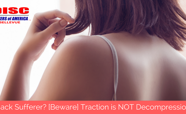 Back Sufferer? [Beware] Traction is NOT Decompression