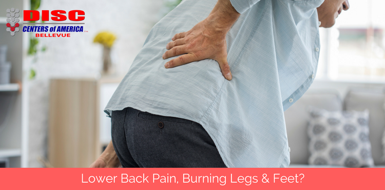 Back Pain, Burning Legs & Feet