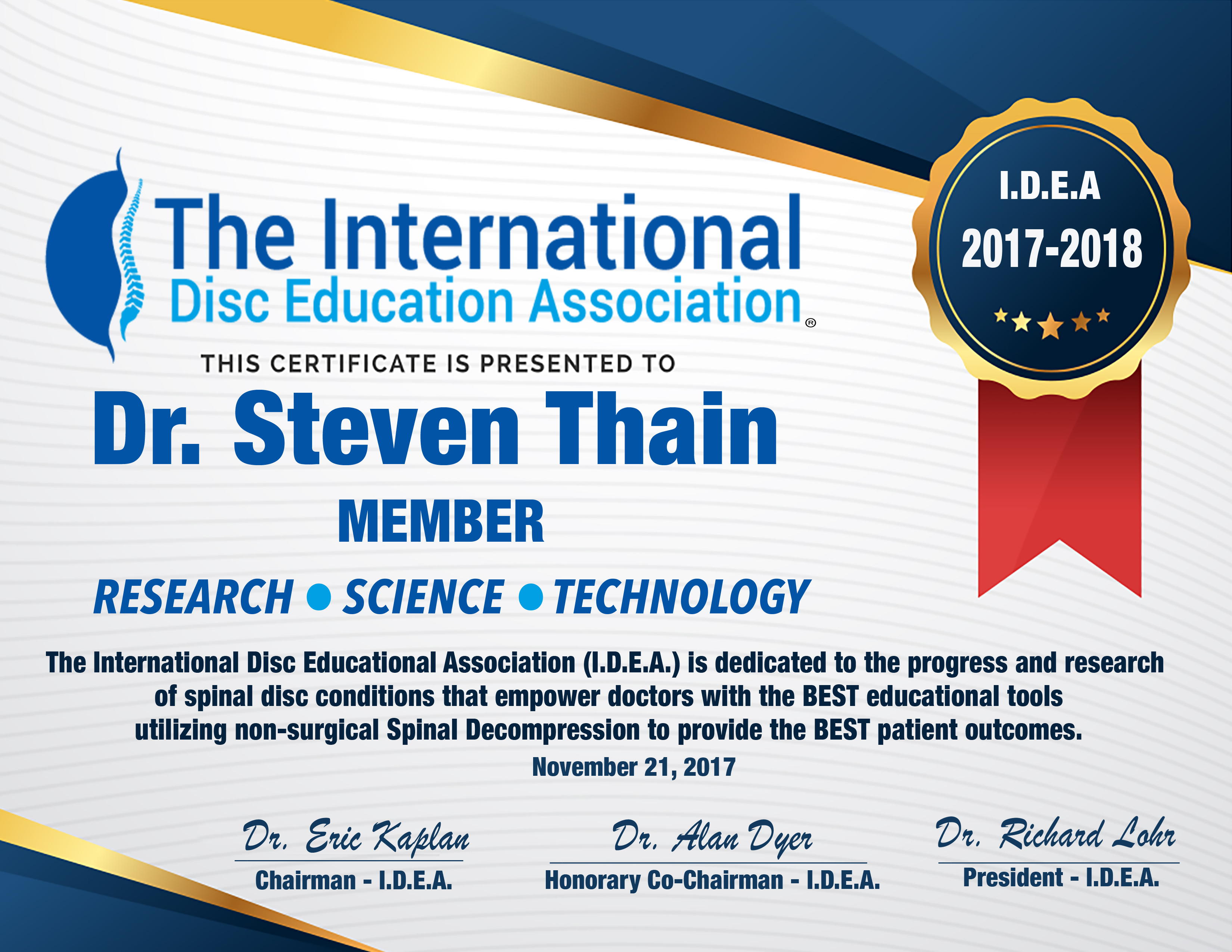 International Disc Education Association