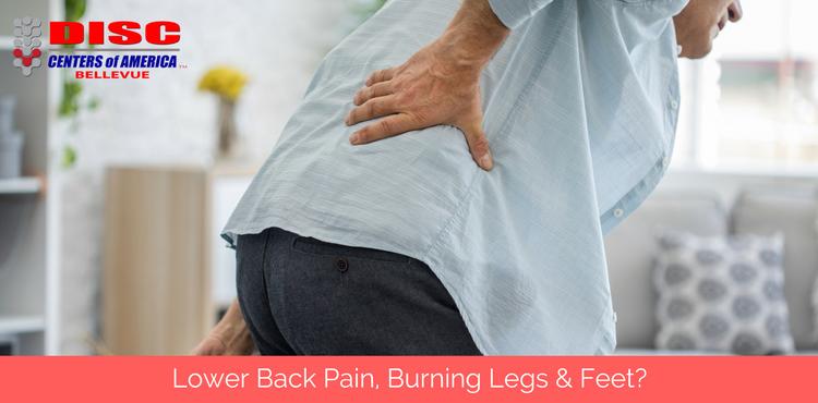 Back Pain, Burning Legs & Feet