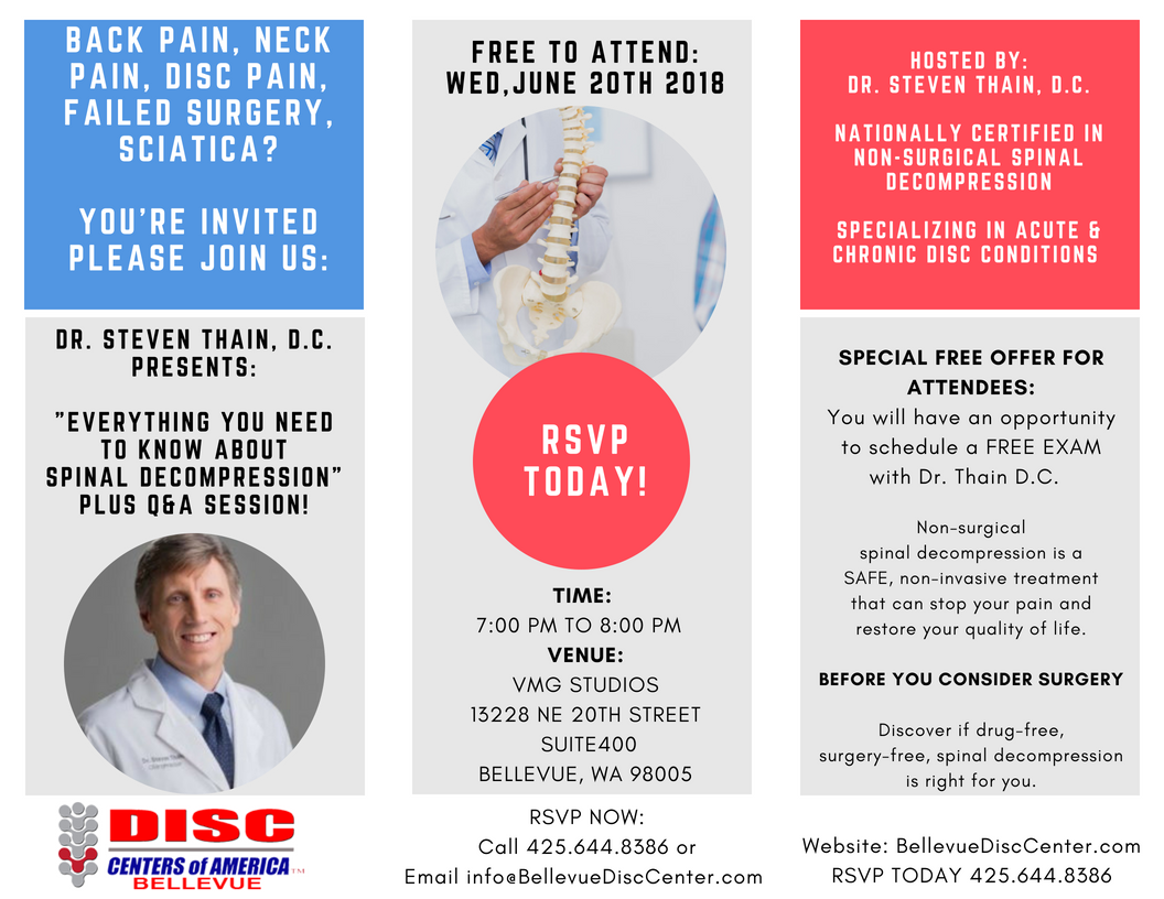 Meet Dr. Thain D.C. June 20th